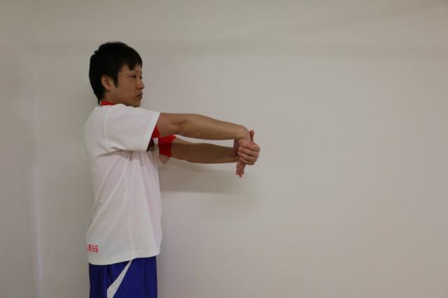 スマホ腱鞘炎のストレッチ